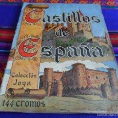 Coleccionismo Álbum: CASTILLOS DE ESPAÑA COMPLETO 144 CROMOS. CASULLERAS 1957. REGALO BELLEZAS DE ESPAÑA. BRUGUERA.. Lote 60830111