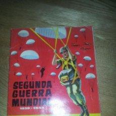 Coleccionismo Álbum: ALBUM SEGUNDA GUERRA MUNDIAL. CHOCOLATES TORRAS. COMPLETO. Lote 60835127