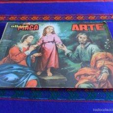 Coleccionismo Álbum: ARTE ALBUM MAGA COMPLETO 290 CROMOS. 1971. ALBUM RARO. BUEN ESTADO.. Lote 60841671
