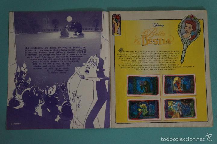 Coleccionismo Álbum: ÁLBUM COMPLETO DE LA BELLA Y LA BESTIA AÑO ???? DE PANINI - Foto 2 - 60885643