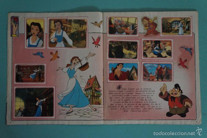 Coleccionismo Álbum: ÁLBUM COMPLETO DE LA BELLA Y LA BESTIA AÑO ???? DE PANINI - Foto 3 - 60885643