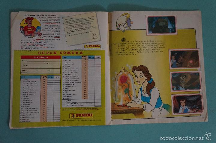 Coleccionismo Álbum: ÁLBUM COMPLETO DE LA BELLA Y LA BESTIA AÑO ???? DE PANINI - Foto 14 - 60885643