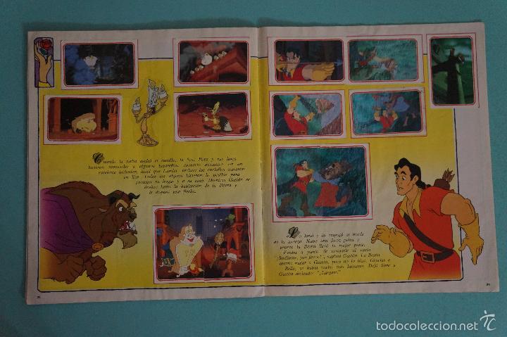 Coleccionismo Álbum: ÁLBUM COMPLETO DE LA BELLA Y LA BESTIA AÑO ???? DE PANINI - Foto 20 - 60885643