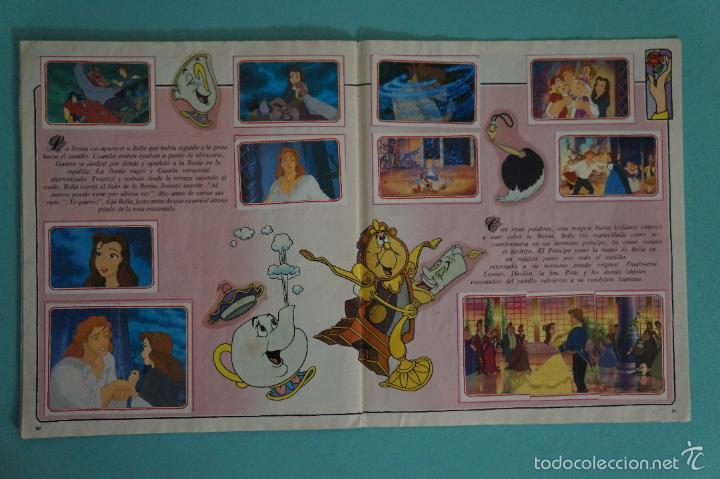 Coleccionismo Álbum: ÁLBUM COMPLETO DE LA BELLA Y LA BESTIA AÑO ???? DE PANINI - Foto 21 - 60885643