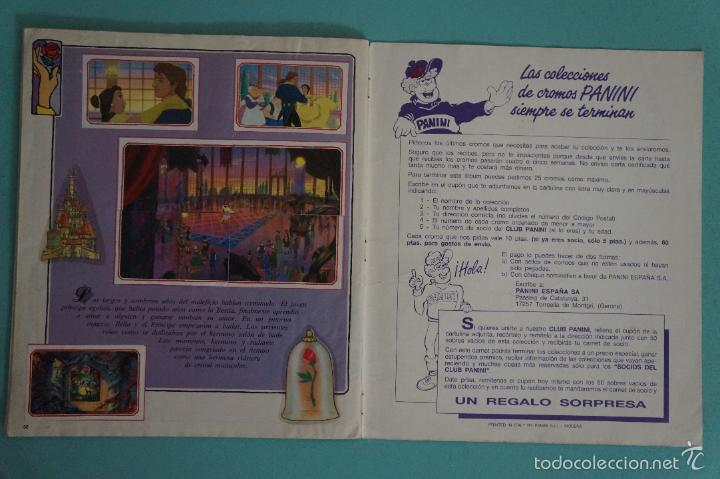 Coleccionismo Álbum: ÁLBUM COMPLETO DE LA BELLA Y LA BESTIA AÑO ???? DE PANINI - Foto 22 - 60885643