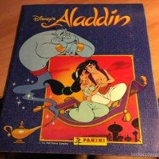 Coleccionismo Álbum: ALADDIN (PANINI) ALBUM COMPLETO (ALB-A). Lote 60948083