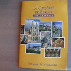 Coleccionismo Álbum: LA CATEDRAL DE BURGOS EN 99 CROMOS.1994. Lote 61028463