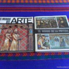Coleccionismo Álbum: EL MUNDO DEL ARTE Y EL MUNDO DE LA PINTURA COMPLETO 280 CROMOS. DIFUSORA DE CULTURA 1971. MBE.. Lote 61056279