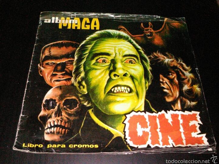 ALBUM CROMOS MAGA CINE ORIGINAL 1976 COMPLETO (Coleccionismo - Cromos y Álbumes - Álbumes Completos)