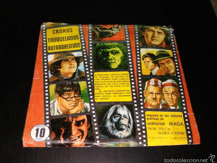 Coleccionismo Álbum: Album cromos maga cine original 1976 completo - Foto 7 - 61366503