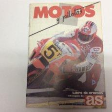 Coleccionismo Álbum: COCHES, MOTOS Y PILOTOS - AS ALBUM COMPLETO 1987. Lote 61602620