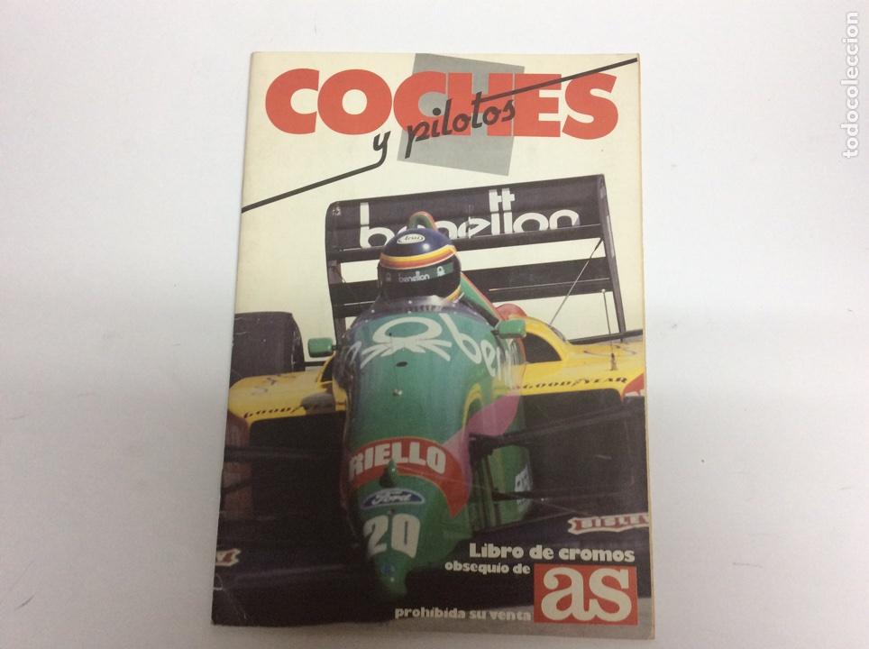 COCHES, MOTOS Y PILOTOS - AS ALBUM COMPLETO 1987 (Coleccionismo - Cromos y Álbumes - Álbumes Completos)