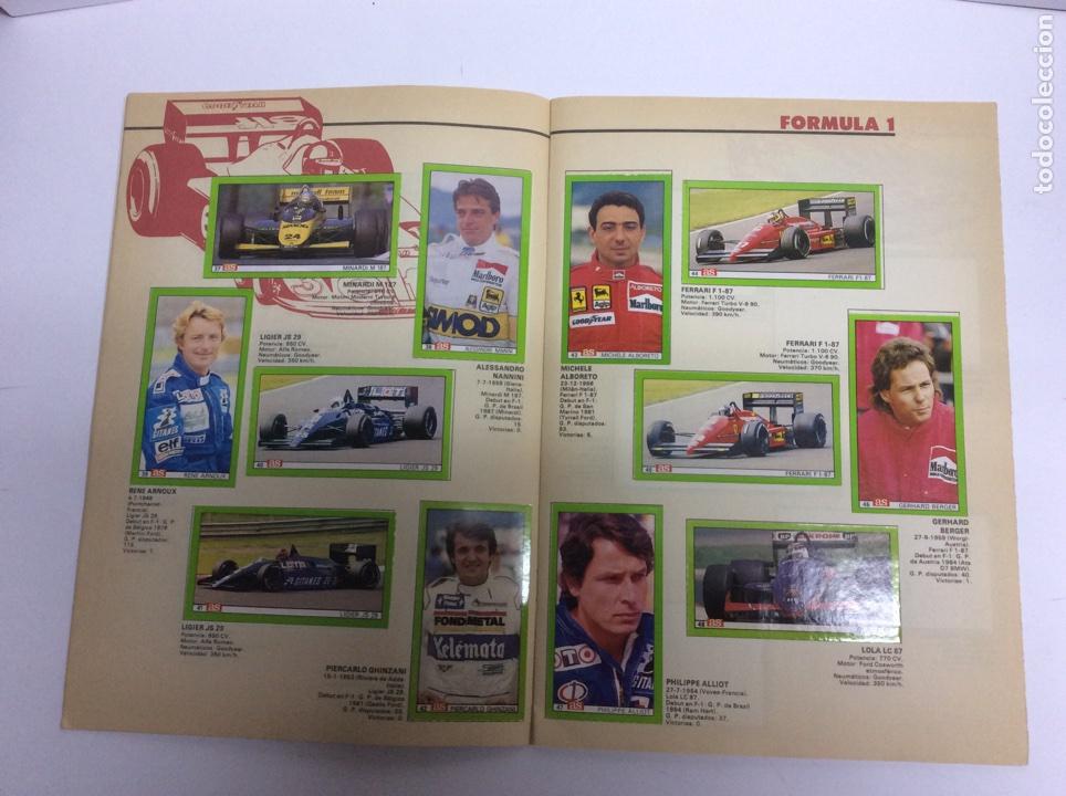 Coleccionismo Álbum: COCHES, MOTOS Y PILOTOS - AS ALBUM COMPLETO 1987 - Foto 2 - 61759746