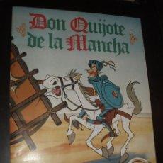 Sammeln Sammelalbum - ALBUM DON QUIJOTE DE LA MANCHA DANONE COMPLETO MUY BUEN ESTADO - 62182460