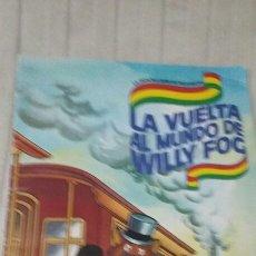 Coleccionismo Álbum: ÁLBUM COMPLETO LA VUELTA AL MUNDO DE WILLY FOG. Lote 62210866