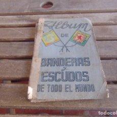 Coleccionismo Álbum: ALBUM DE CROMOS BANDERAS Y ESCUDOS DE TODO EL MUNDO DE FHER. Lote 62286812