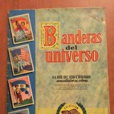 Coleccionismo Álbum: ALBUM COMPLETO BANDERAS DEL UNIVERSO. . Lote 62314492