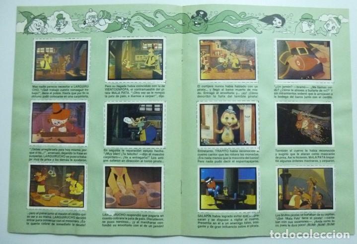 Coleccionismo Álbum: PETETE presenta a TRAPITO - Album de cromos. COMPLETO - Foto 3 - 63368300