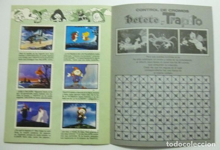 Coleccionismo Álbum: PETETE presenta a TRAPITO - Album de cromos. COMPLETO - Foto 4 - 63368300