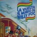 Coleccionismo Álbum: ALBUM DE CROMOS COMPLETO LA VUELTA AL MUNDO DE WILLY FOG DANONE. Lote 160983602