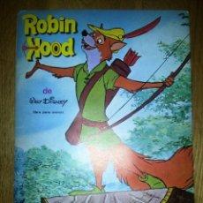 Coleccionismo Álbum: ALBUM CROMOS ROBIN HOOD WALT DISNEY. EDITORIAL FHER. Lote 63634051