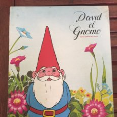 Coleccionismo Álbum: ALBUM CROMOS COMPLETO DAVID EL GNOMO DE DANONE 64 CROMOS. Lote 64293162