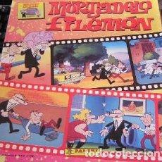 Coleccionismo Álbum: ALBUM CROMOS COMPLETO MORTADELO Y FILEMON PANINI. Lote 64295983