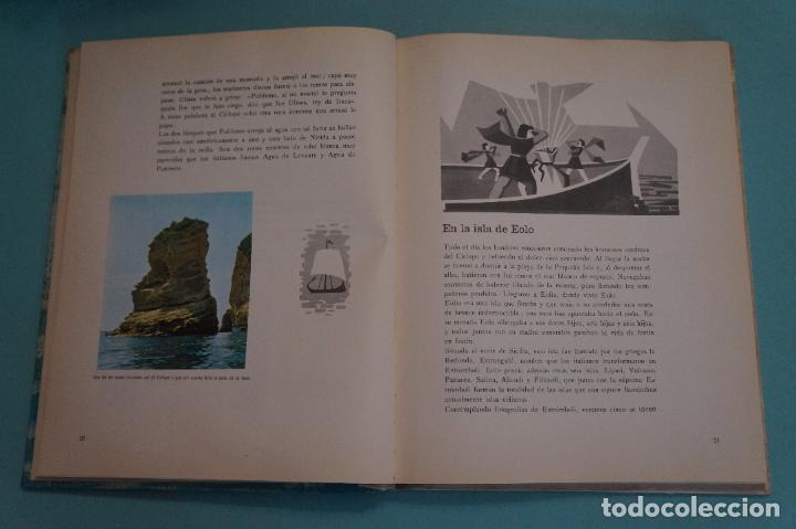 Coleccionismo Álbum: ÁLBUM COMPLETO DE LOS VIAJES DE ULISES AÑO 1962 DE NESTLÉ - Foto 19 - 64323207