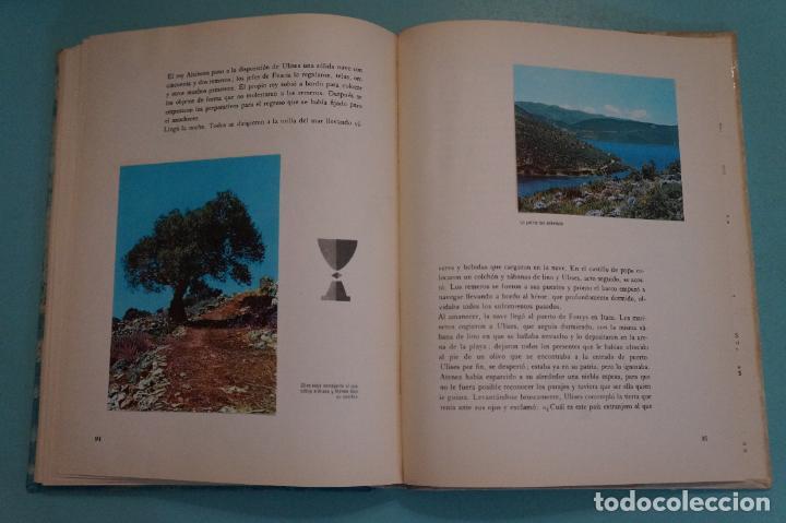 Coleccionismo Álbum: ÁLBUM COMPLETO DE LOS VIAJES DE ULISES AÑO 1962 DE NESTLÉ - Foto 20 - 64323207