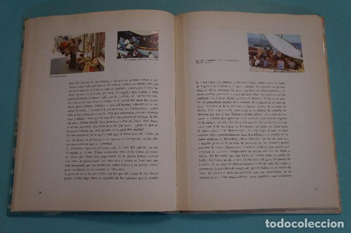 Coleccionismo Álbum: ÁLBUM COMPLETO DE LOS VIAJES DE ULISES AÑO 1962 DE NESTLÉ - Foto 25 - 64323207