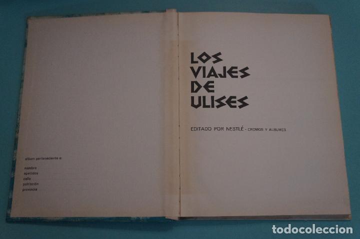 Coleccionismo Álbum: ÁLBUM COMPLETO DE LOS VIAJES DE ULISES AÑO 1962 DE NESTLÉ - Foto 28 - 64323207