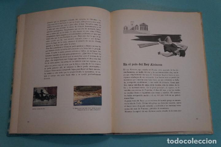 Coleccionismo Álbum: ÁLBUM COMPLETO DE LOS VIAJES DE ULISES AÑO 1962 DE NESTLÉ - Foto 30 - 64323207