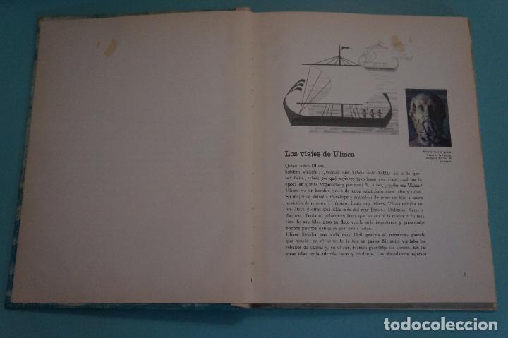 Coleccionismo Álbum: ÁLBUM COMPLETO DE LOS VIAJES DE ULISES AÑO 1962 DE NESTLÉ - Foto 37 - 64323207