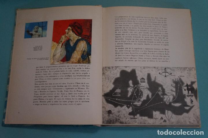 Coleccionismo Álbum: ÁLBUM COMPLETO DE LOS VIAJES DE ULISES AÑO 1962 DE NESTLÉ - Foto 38 - 64323207