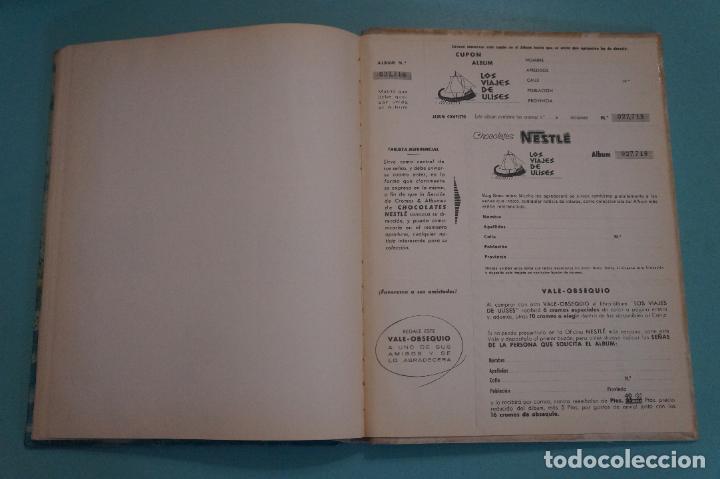 Coleccionismo Álbum: ÁLBUM COMPLETO DE LOS VIAJES DE ULISES AÑO 1962 DE NESTLÉ - Foto 50 - 64323207