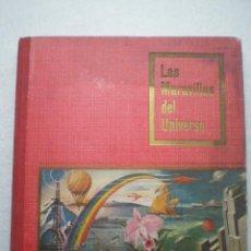 Coleccionismo Álbum: LAS MARAVILLAS DEL UNIVERSO -ALBUM DE CROMOS NESTLE 1955 // COMPLETO. Lote 64452163