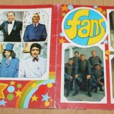 Coleccionismo Álbum: ESTE - FANS - ÁLBUM COMPLETO - 1976. Lote 48816619
