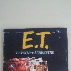 Coleccionismo Álbum: ALBUM COMPLETO ET EL EXTRATERRESTRE . Lote 64543091