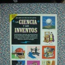 Coleccionismo Álbum: ALBUM DE CROMOS. LA CIENCIA Y LOS INVENTOS. NOVARO 1971. COMPLETO. Lote 64604331