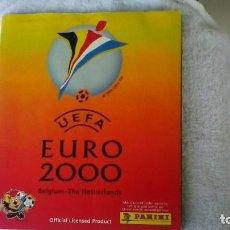 Coleccionismo Álbum: ALBUM EURO 2000 COMPLETO - 358 CROMOS, EDIT. PANINI. Lote 152017373