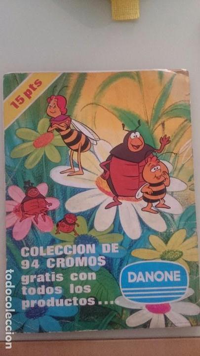 Coleccionismo Álbum: Album cromos completo las aventuras de la abeja maya - Foto 2 - 64963415