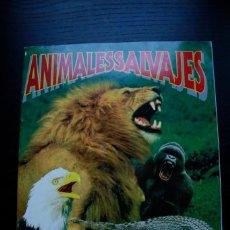 Coleccionismo Álbum: 'ANIMALES SALVAJES' (COLECCIÓN COMPLETA). Lote 65026327