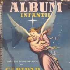 Coleccionismo Álbum: ALBUM INFANTIL PARA LOS SECRETARIADOS DE CARIDAD. LA MIES ES MUCHA. ESPAÑA. AÑO 1950.. Lote 65745474