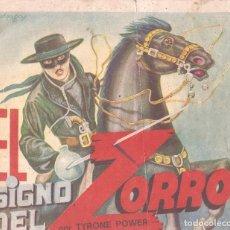 Coleccionismo Álbum: EL SIGNO DEL ZORRO - EDITORIAL FHER - 1944 - COMPLETO. Lote 65827934