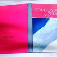 Coleccionismo Álbum: ÁLBUM NESTLÉ LA CONQUISTA DE LOS ANDES DEL PERÚ. Lote 65991494