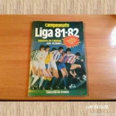 Coleccionismo Álbum: ALBUM CROMOS COMPLETO LIGA ESTE TEMPORADA 1981 1982. Lote 66494482