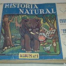Coleccionismo Álbum: ALBUM HISTORIA NATURAL AÑOS 40 COMPLETO.. Lote 66949330