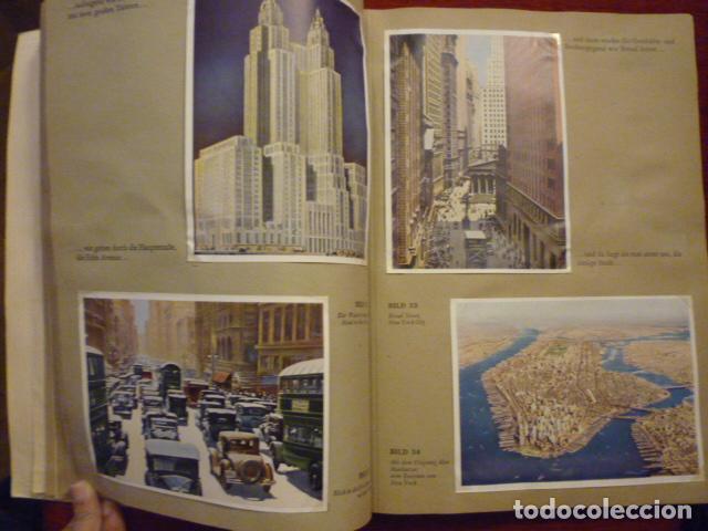 Coleccionismo Álbum: ALBUM ALEMAN COMPLETO MIT REICHELT UM DIE WELT. PRECIOSO ALBUM CON FOTOS DE AMERICA. - Foto 2 - 66977438