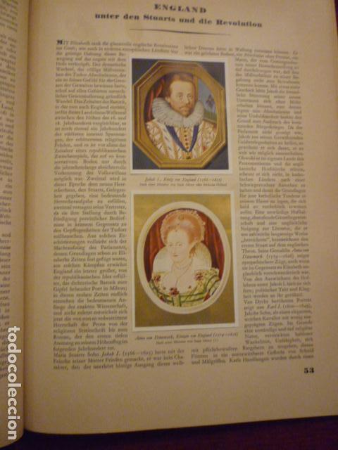 Coleccionismo Álbum: ALBUM ALEMAN COMPLETO Y EN MUY BUEN ESTADO DE LA HISTORIA DEL MUNDO. (GESTALTEN DER WELTGESCHICHTE). - Foto 4 - 66977658