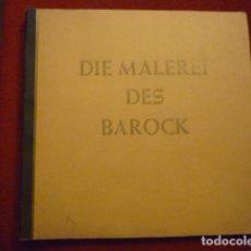 Coleccionismo Álbum: ESPECTACULAR ALBUM ALEMAN COMPLETO DE LA PINTURA DEL BARROCO. (DIE MALEREI DES BAROCK).. Lote 66978406